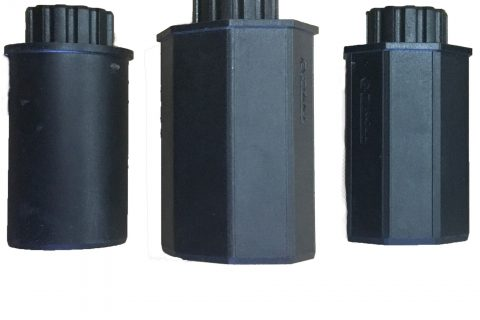 three axel l10 mech adapter 50mm round 50mm octgonal 60mm octagonal