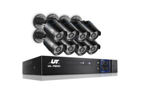 1080p Budget bullet security system