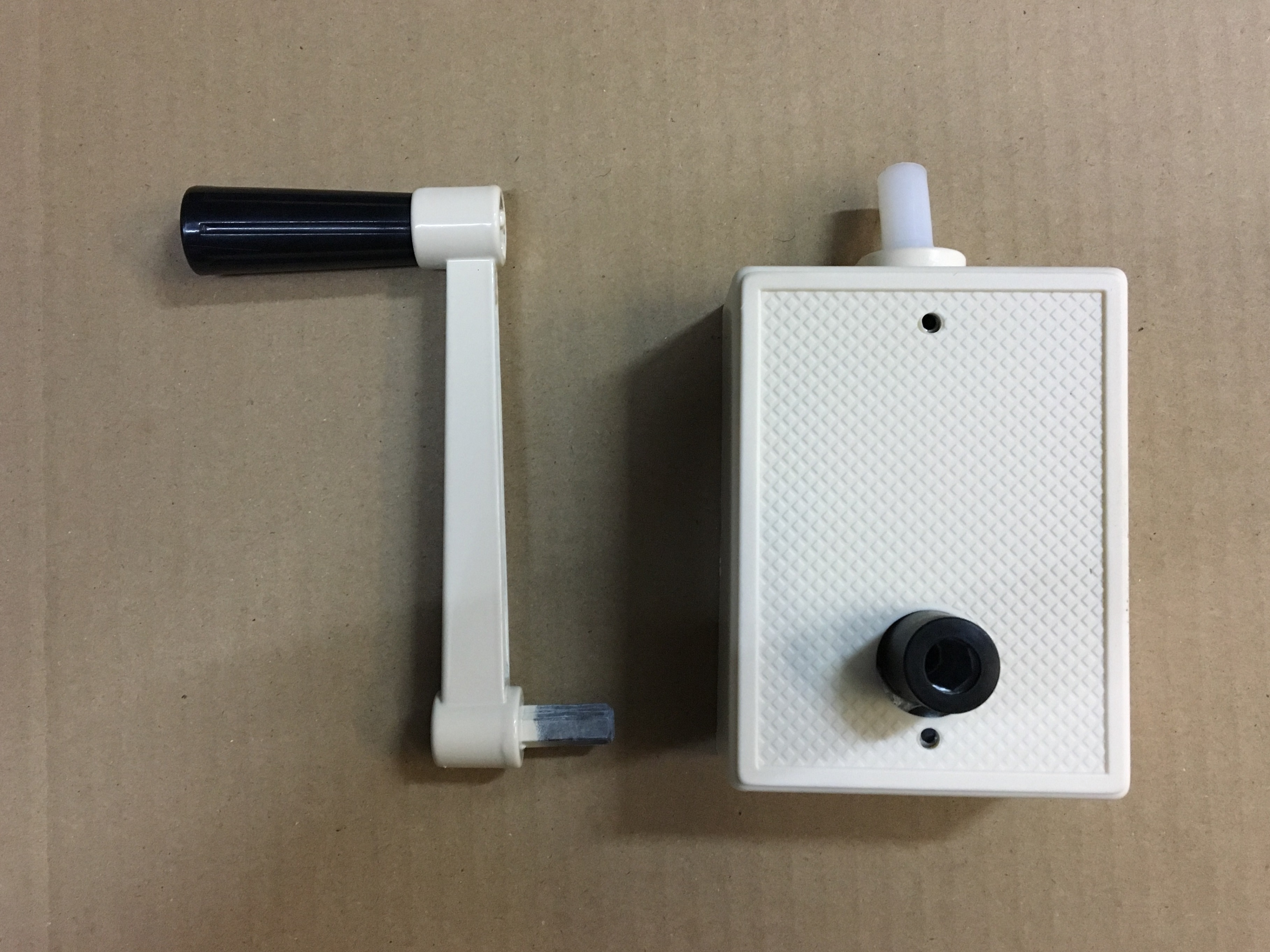 roller shutter cable winder box comes with handle now only $85
