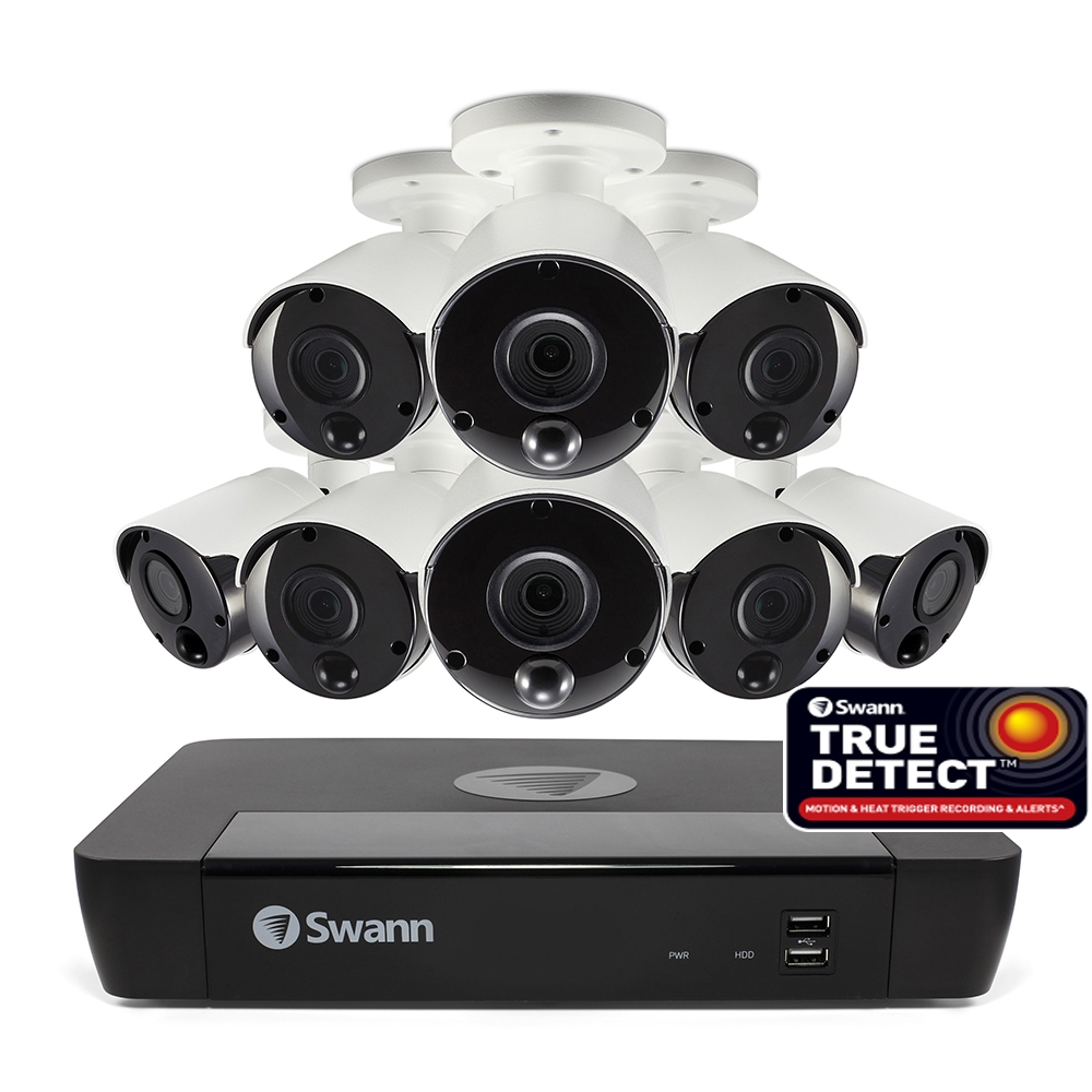 Swann Nvr8 7580 5mp Day Night Indoor Outdoor Remote Viewing