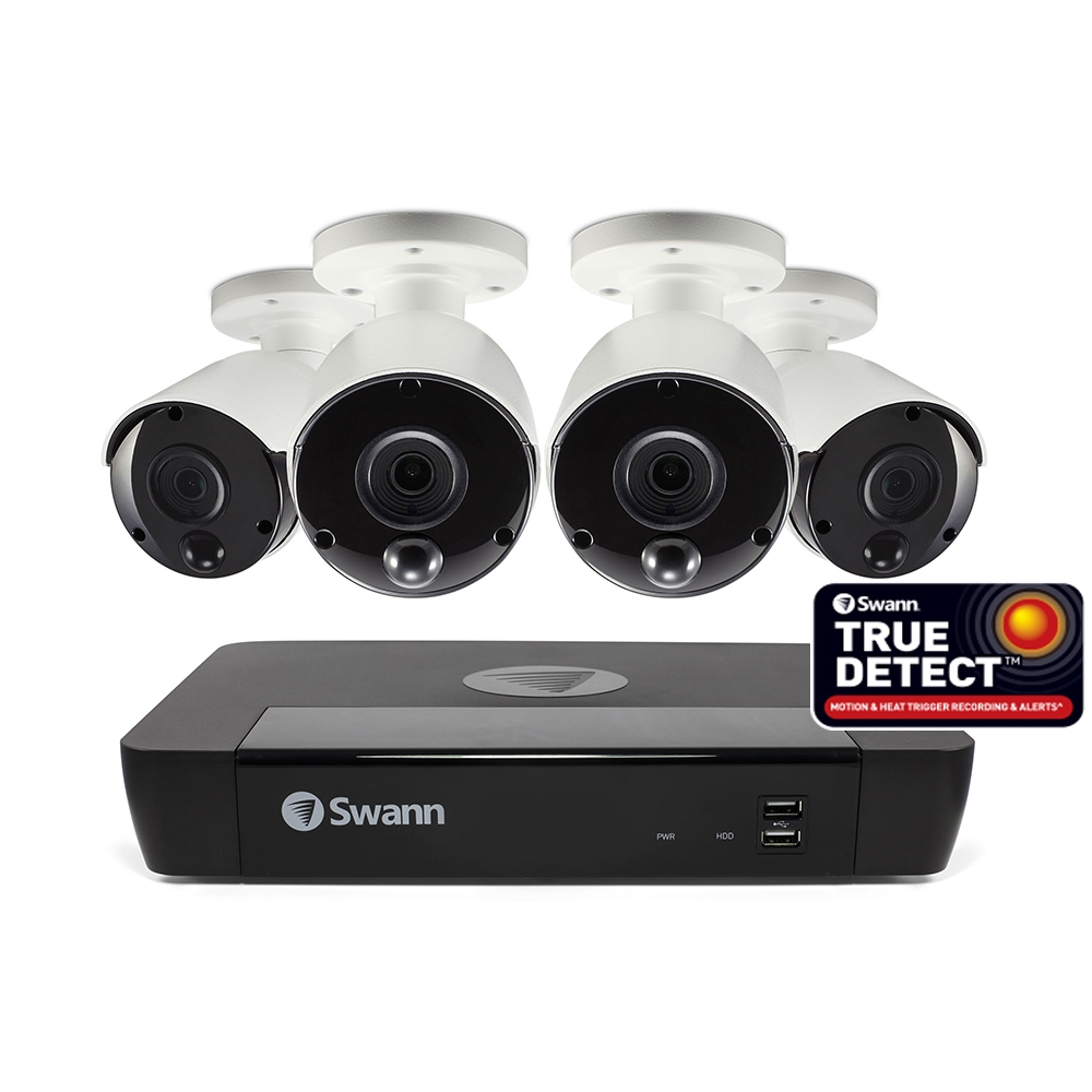 Swann NVR8-7580 5MP Day Night Indoor Outdoor remote viewing