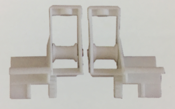 Box End Inserts on wall