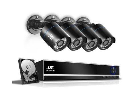 ul-tech 1080p 8 channel camera