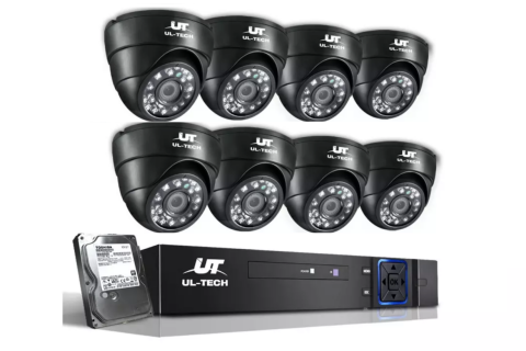 ul-tech 1080p Dome Security Camera