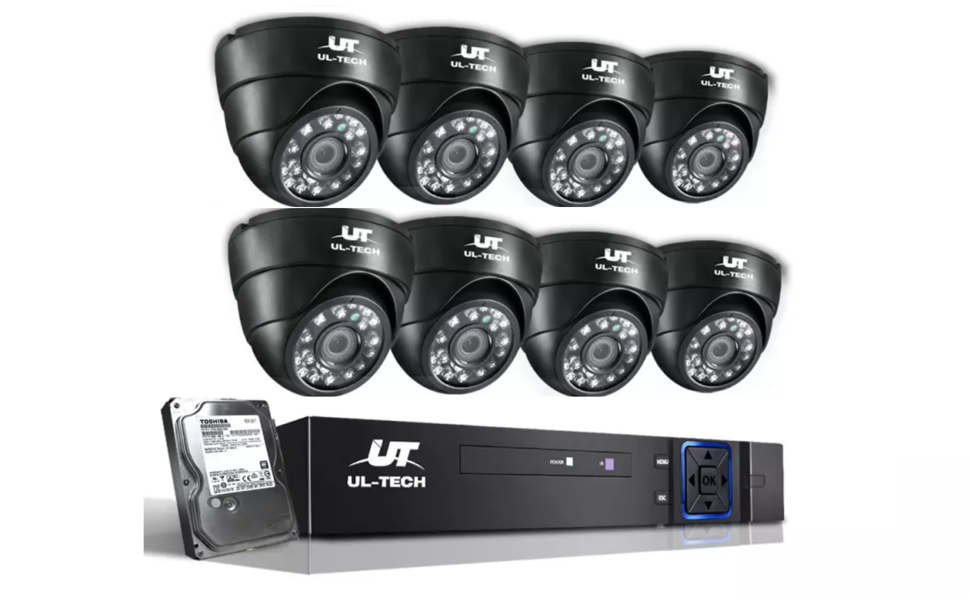 Ul Tech 1080p Dome Security Camera Is In Our Diy Budget Range