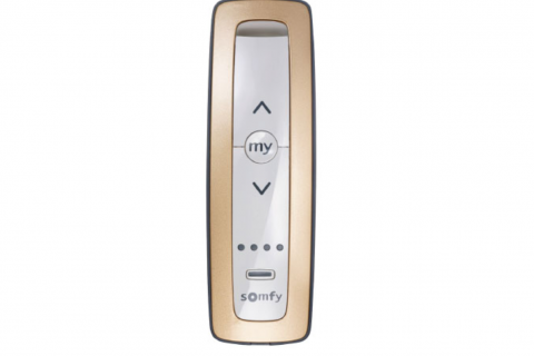 Somfy Situo rose gold 5 Channel Remote